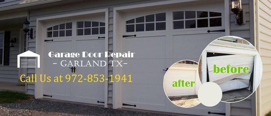 Garage Door Repair Garland TX Banner